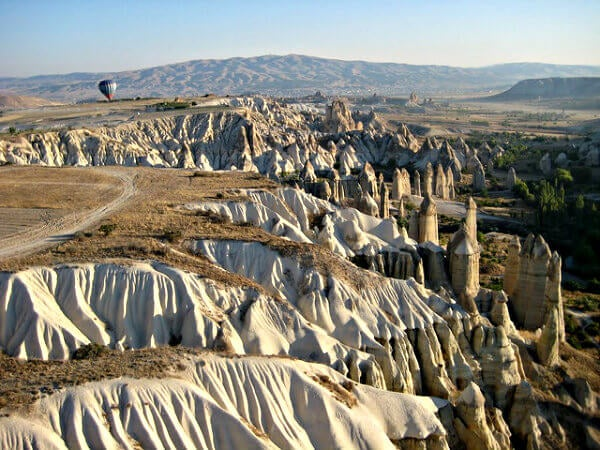 globo sobre la cappadocia en turquia