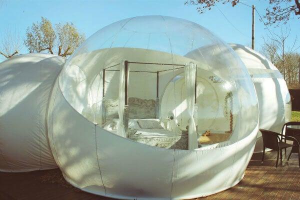 hotel burbuja milestrelles