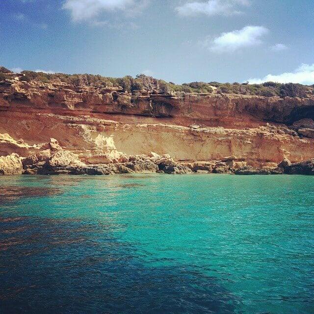 isla tagomago playa