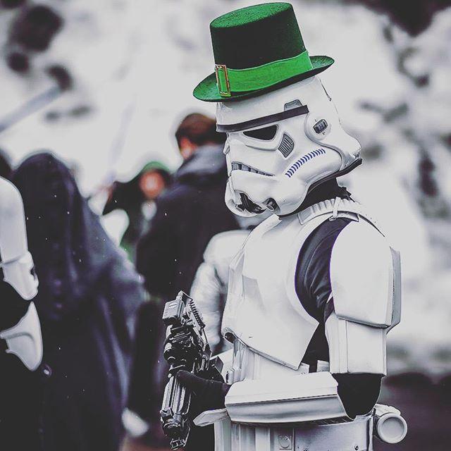 star wars vestido de verde