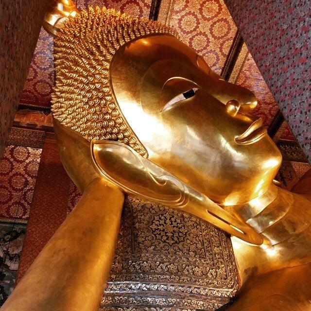 templo watpho buda reclinado