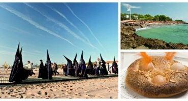 """Semana Santa en la Comunitat Valenciana: comerse la """"mona"""" en la playa"""