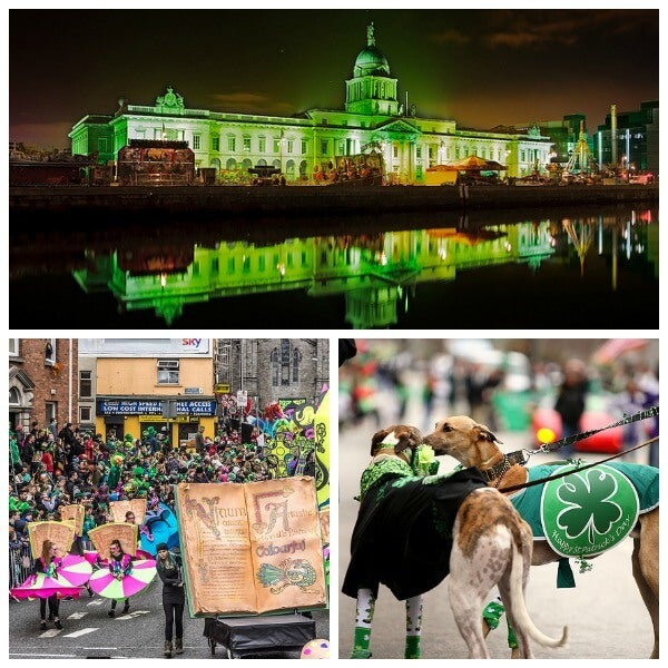 St patricks Dublin Collage