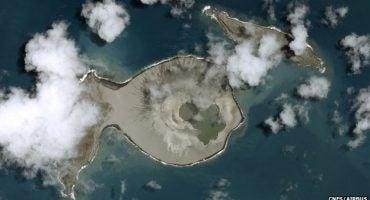 El Pacífico tiene una nueva isla