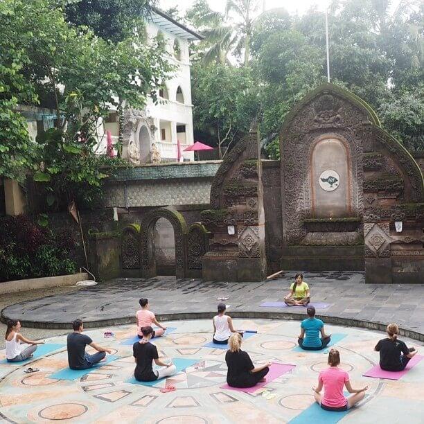 yoga en ubud
