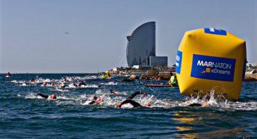La II Marnatón eDreams empieza la temporada en aguas abiertas con 1.000 nadadores