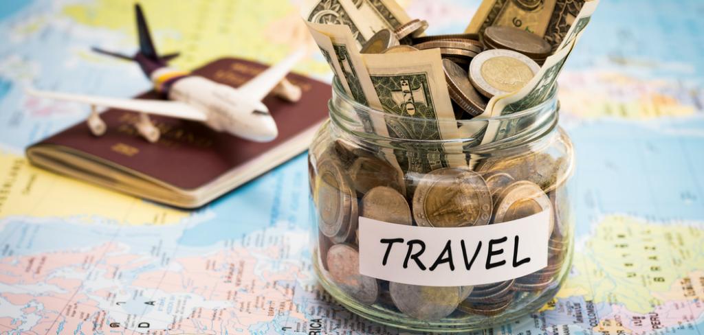 Bote de ahorro para viajar