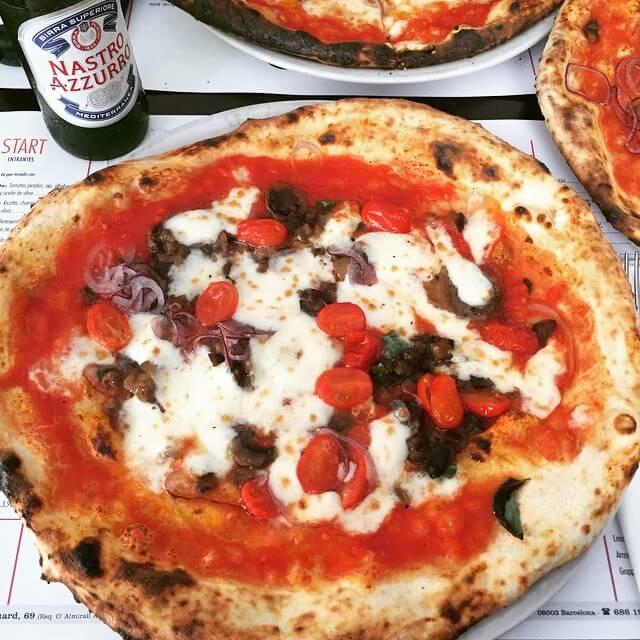 italiano - nap pizza en Barcelona