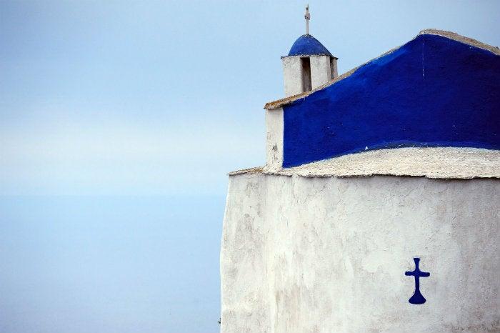 tinos, en las islas griegas