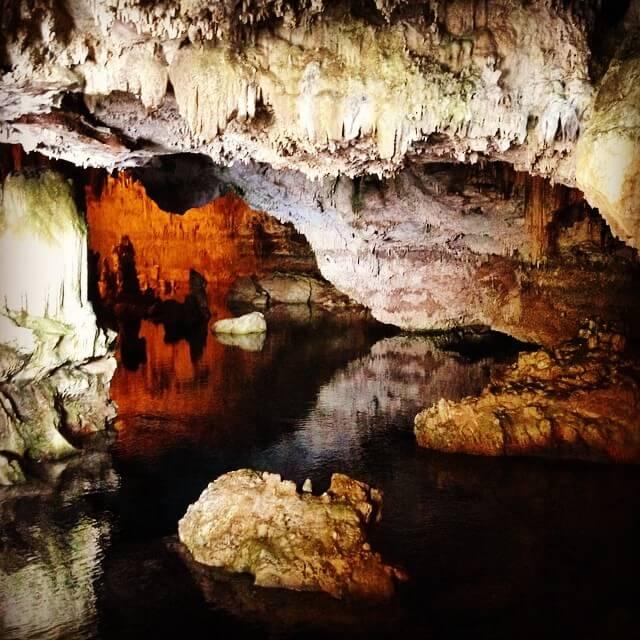 gruta de neptuno
