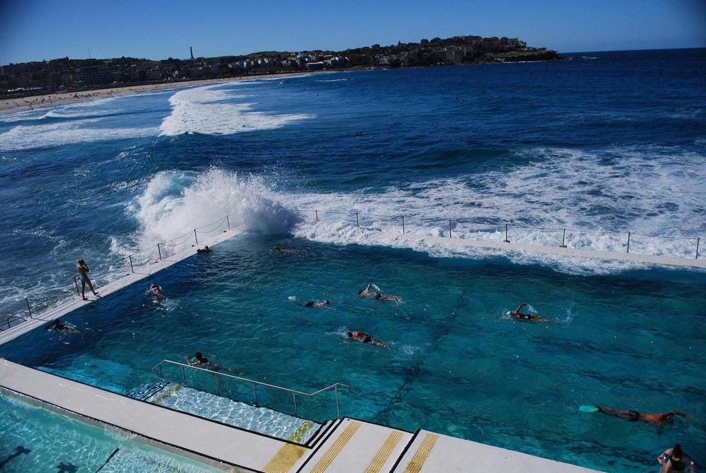 Las 20 piscinas naturales más originales del mundo. Bondy beach Sidney