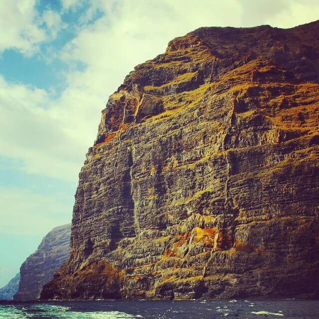 Razones para viajar a Tenerife. Acantilados de los gigantes