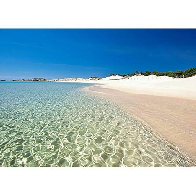 praias de Chia sardenha
