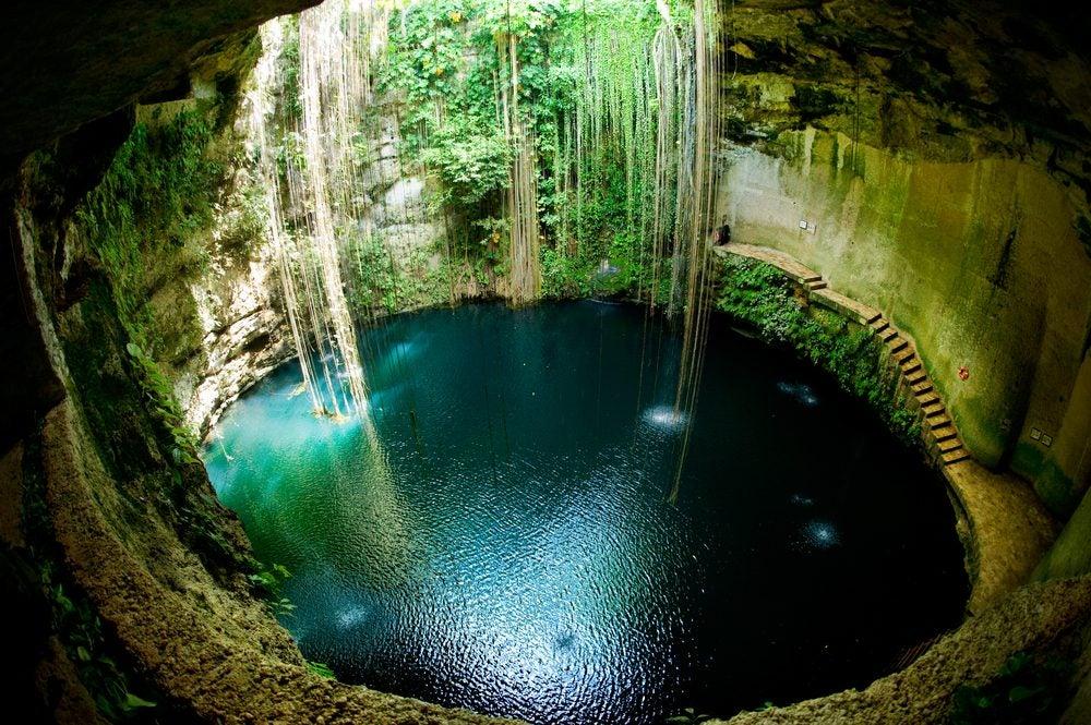 Las 20 piscinas naturales más originales del mundo. Cenote Yucatán