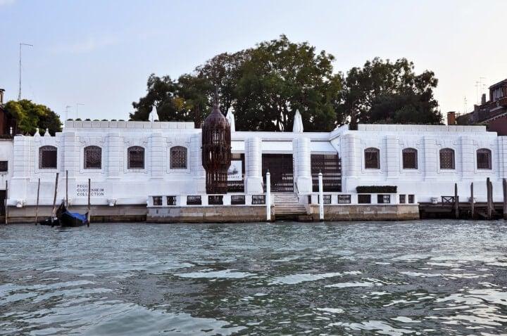 Museo Colección de Peggy Guggenheim en Venecia de arte contemporáneo
