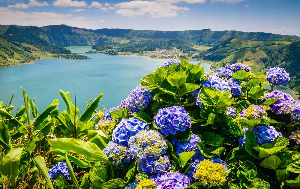 lagunas deIlha das Flores, Islas Azores