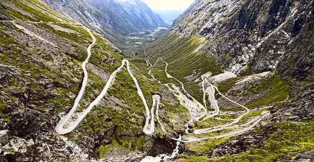 15 carreteras panorámicas para un road trip. Trollstigen Noruega