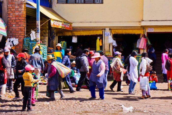 mercado en cusco