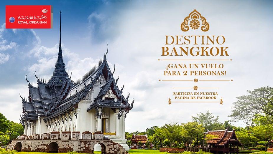 ¿Próximo destino? Bangkok con Royal Jordanian