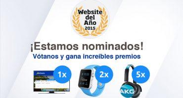Vota a eDreams como mejor web del año y gana magníficos premios