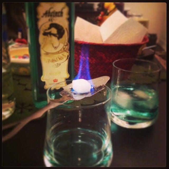 copo de absinto