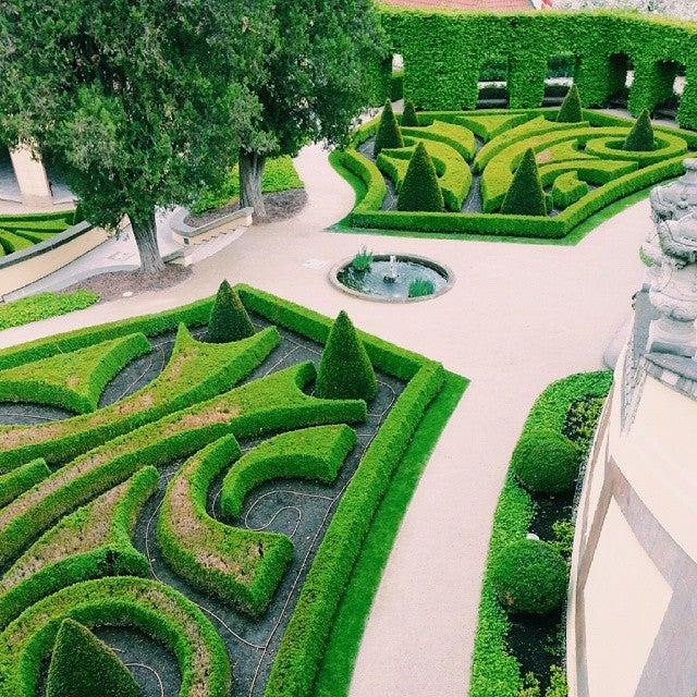 jardines de Praga