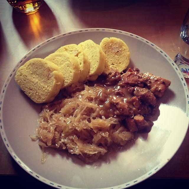 piatto tipico  di praga