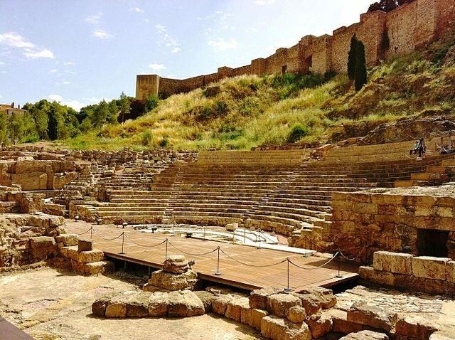 11 razones para visitar Málaga. Teatro Romano