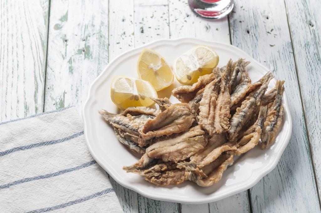 Feria de Abril Sevilla, pescaito frito
