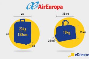 Consejos para hacer el equipaje con Air Europa