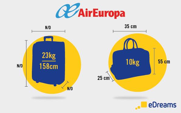 air europa equipaje