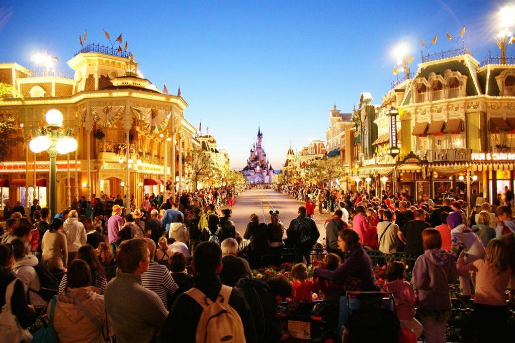 París en familia en Navidad, Disneyland