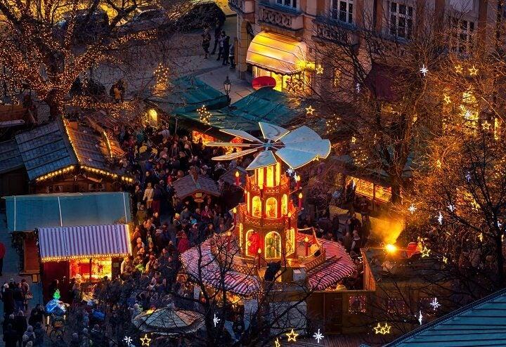 Mercado navideño en Múnich