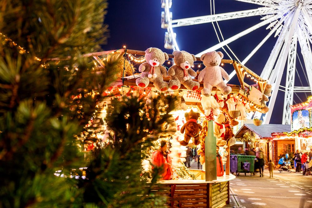El mercado navideño Winter Wonderland en Londres