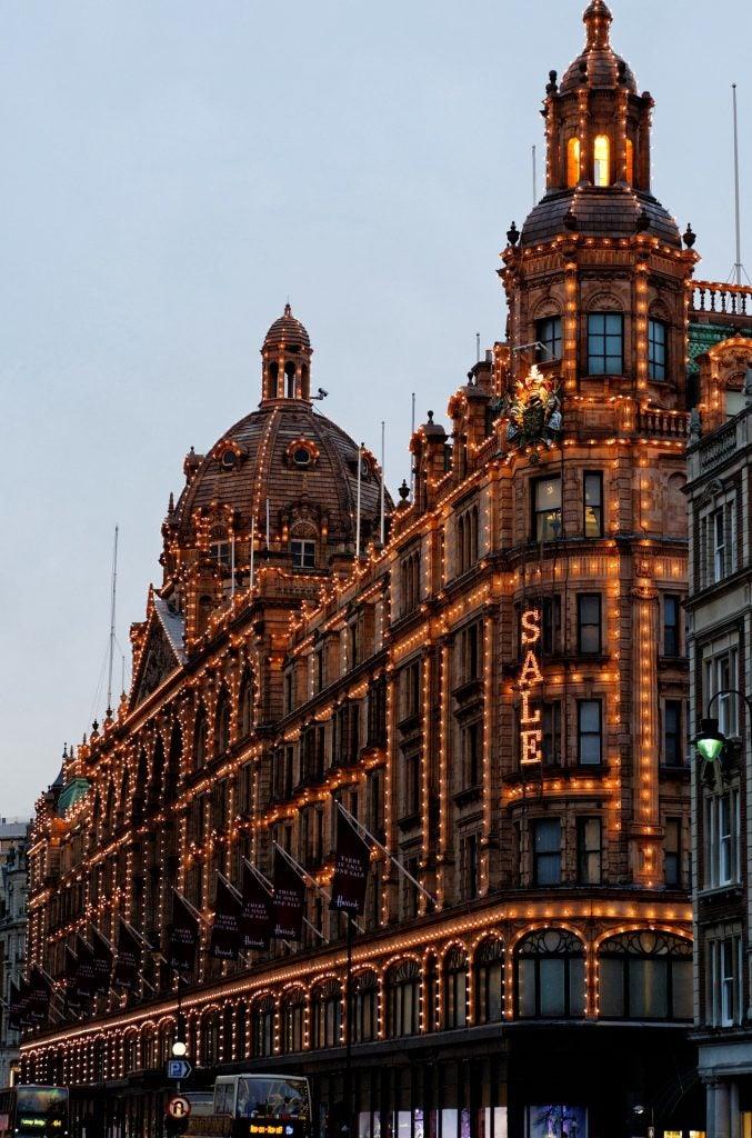 El centro comercial Harrods, Londres