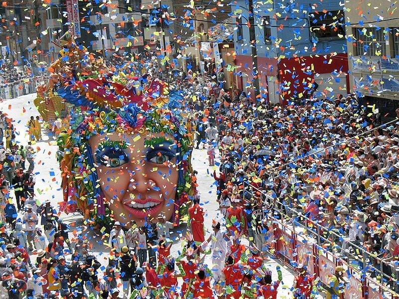 Los mejores destinos para disfrutar de los Carnavales. Barranquilla