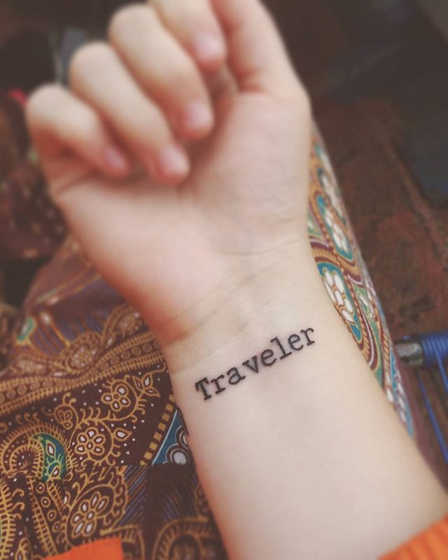 Traveler tattoo