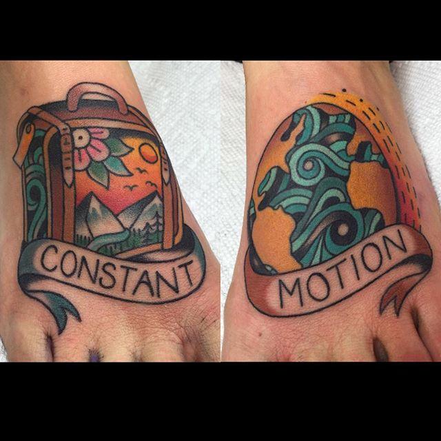 tatuaggi di viaggio