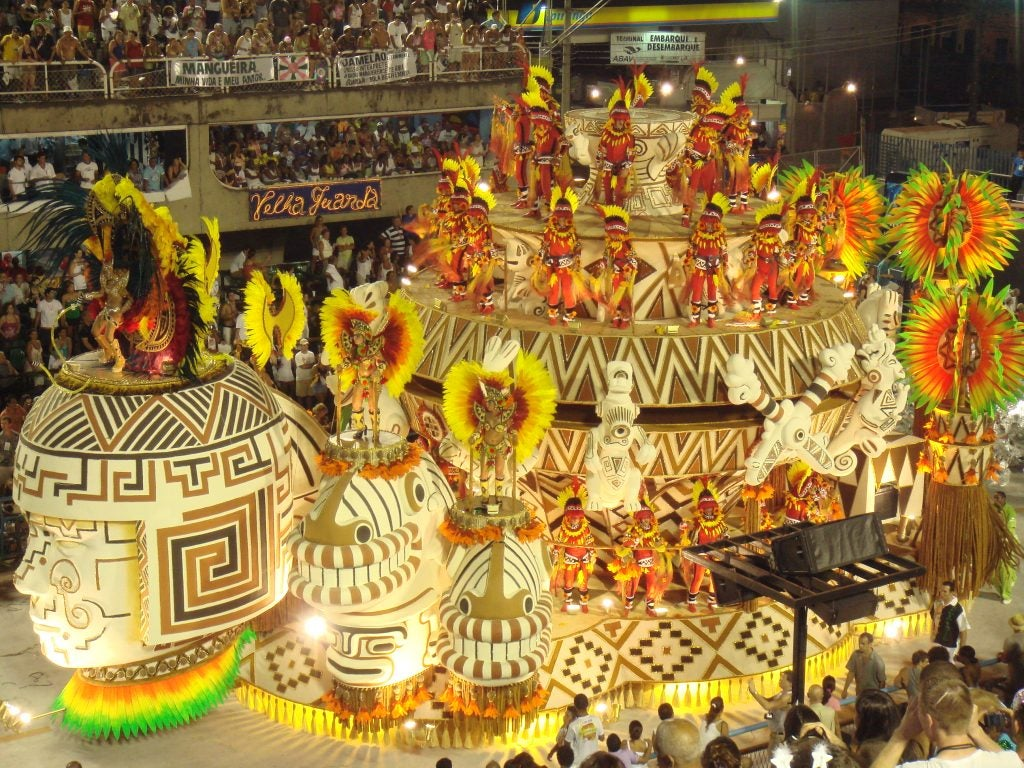 Los mejores destinos para disfrutar de los Carnavales. Río de Janeiro
