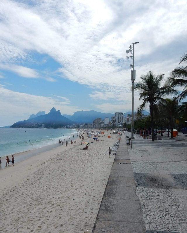 ipanema. playas de río de janeiro