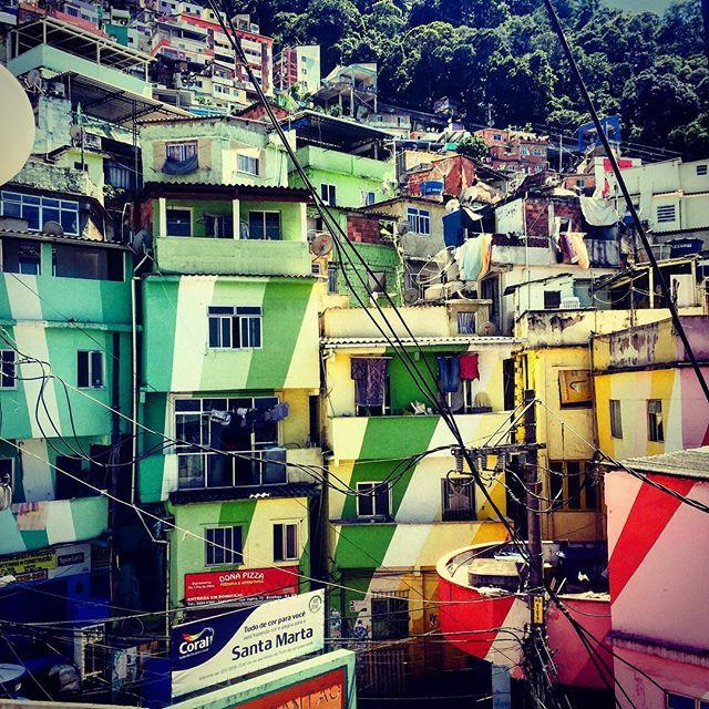 favelas de santa marta