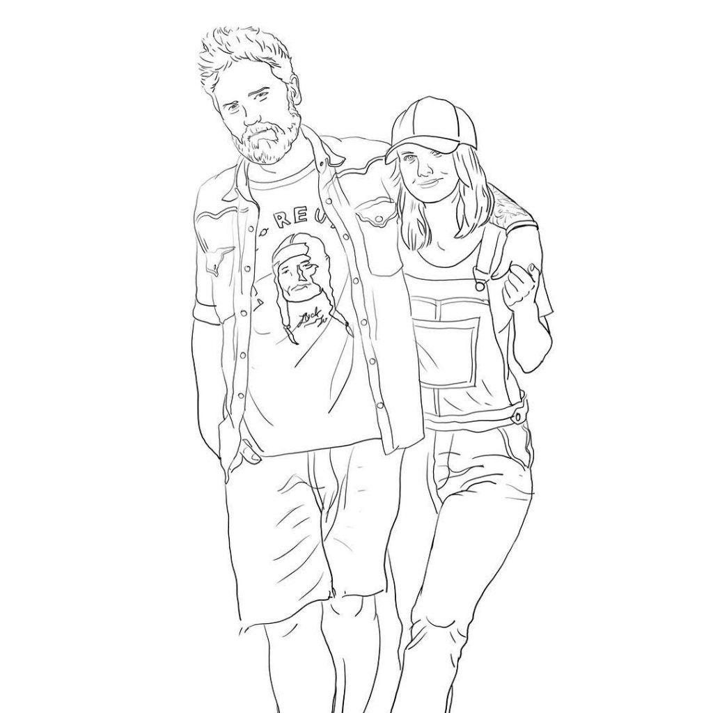 illustrazione coppia