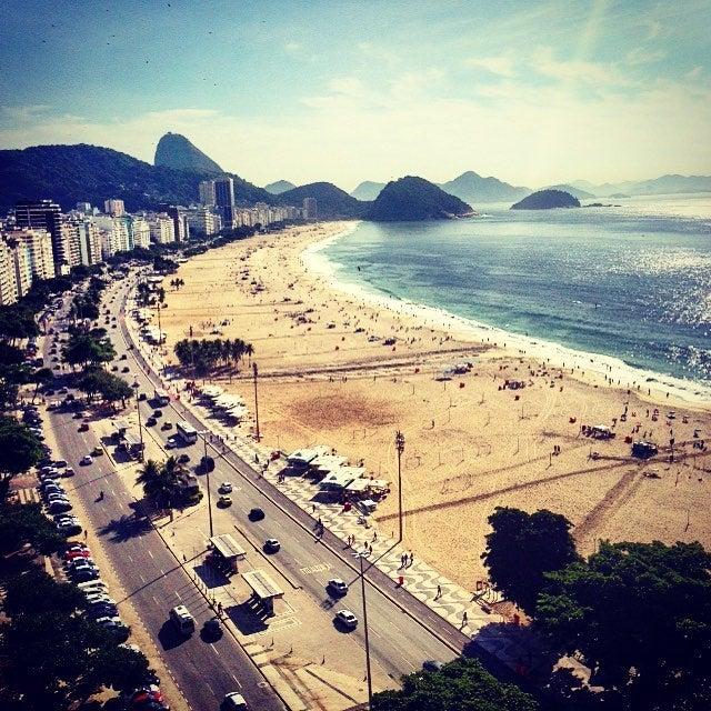 copacabana. playas de río de janeiro