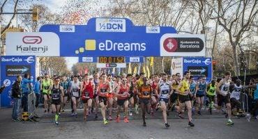 La eDreams Mitja Marató de Barcelona cerró con récord de participación