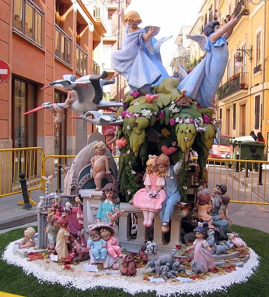 Vocabulario fallero. Las fallas