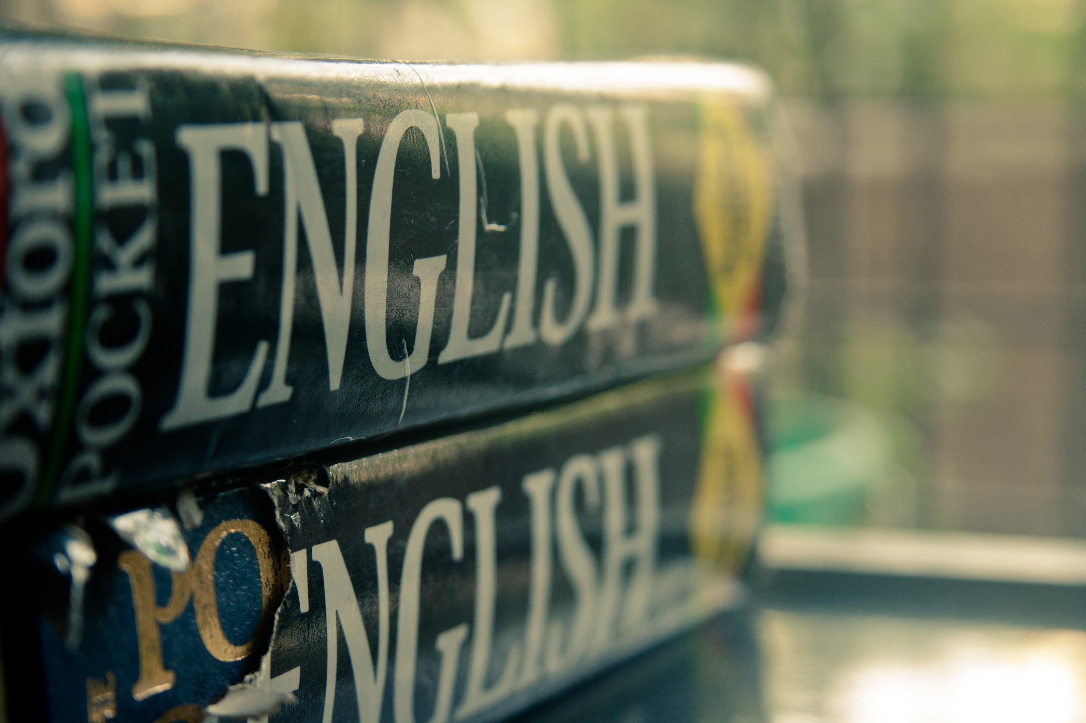 diccionarios de inglés