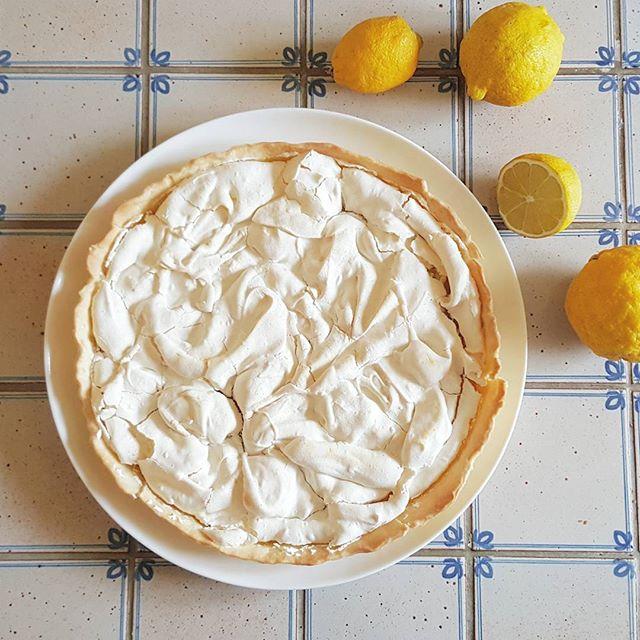 Tarta de limón francesa