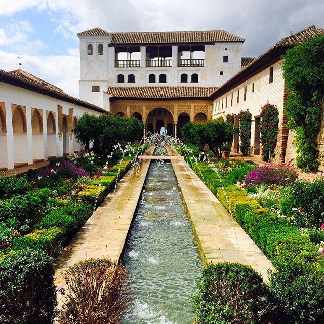 jardines del Generalife granada