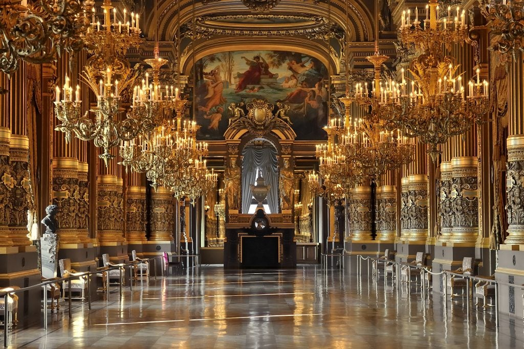 Interior de la Ópera Garnier