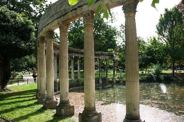 Parque Monceau, París